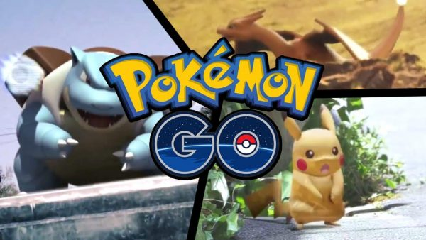 Популярная игра для смартфона Pokemon Go