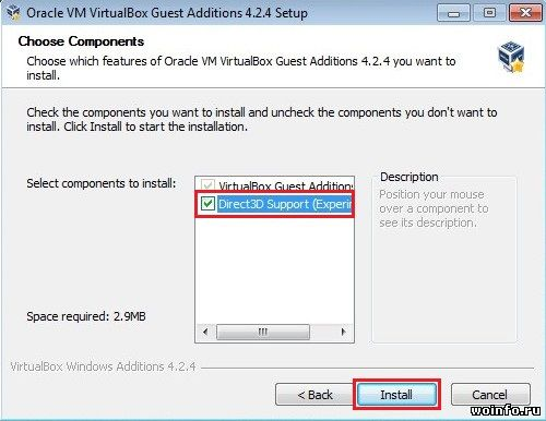 Как включить Aero в Windows 7, установленной на VirtualBox?