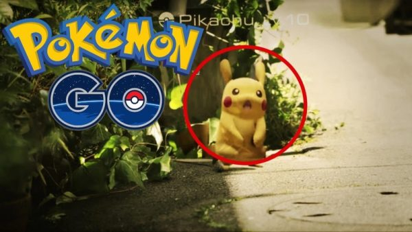 Скриншот игры Pokemon go