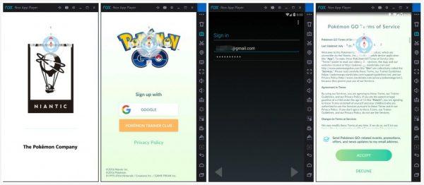 Инструкция по запуску игры Pokemon go