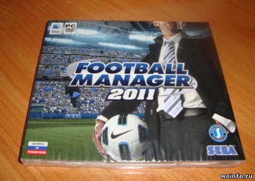 Коллекционное издание Football Manager 2011