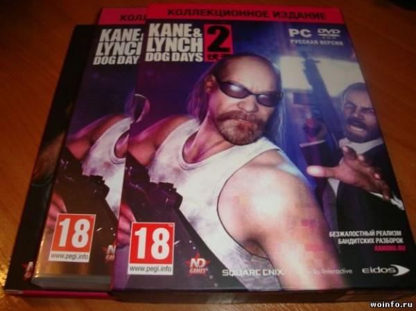 Коллекционное издание Kane & Lynch 2 Dog Days