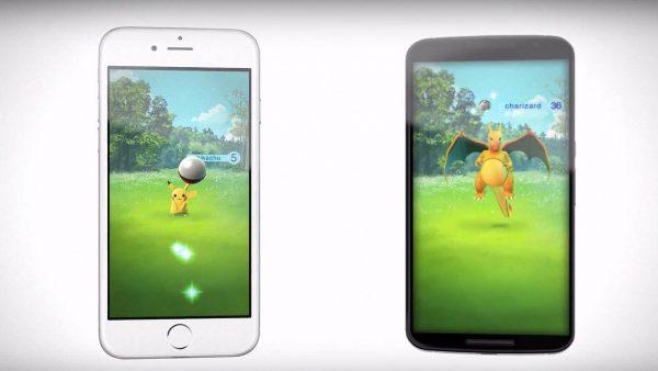 Ловля покемонов в игре Pokemon go