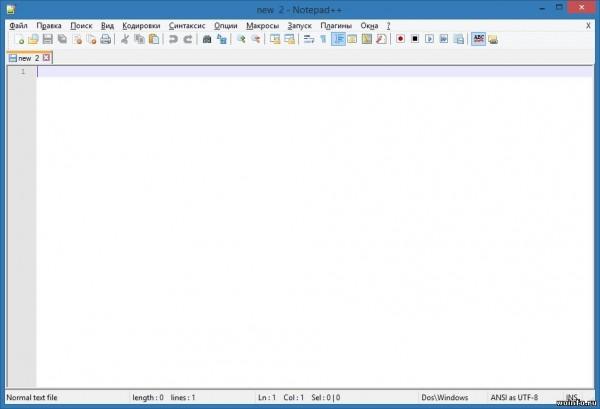 Notepad++ 6.5.5