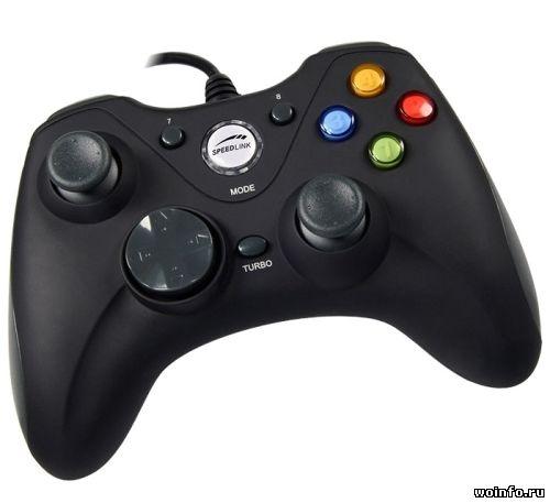 Обзор геймпада SpeedLink Xeox Usb Gamepad