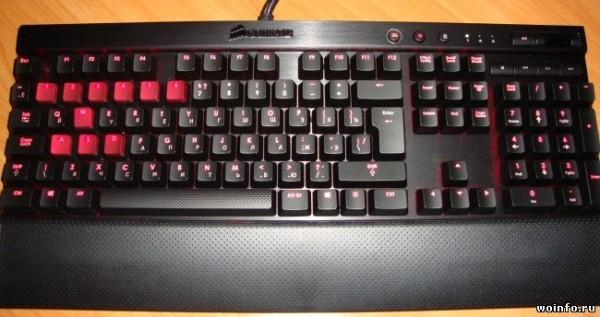 Обзор игровой механической клавиатуры Corsair Vengeance K70