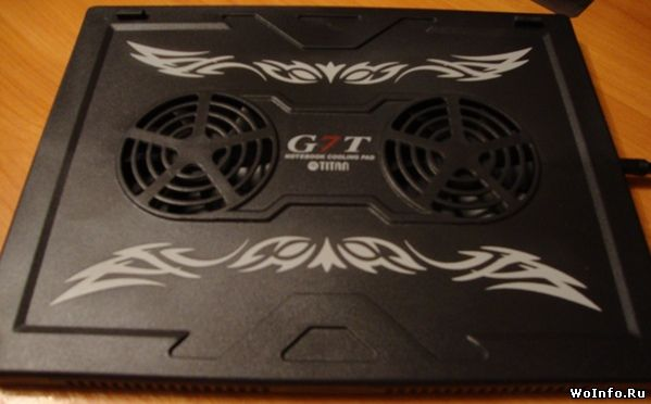 Обзор охлаждающей подставки Titan TTC-G7TZ для ноутбука