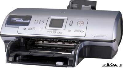 Обзор принтера HP Photosmart 8453