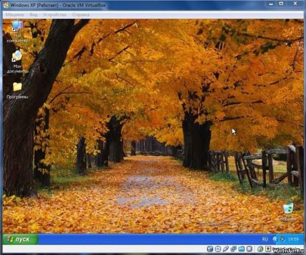 Операционная система во весь экран в VirtualBox