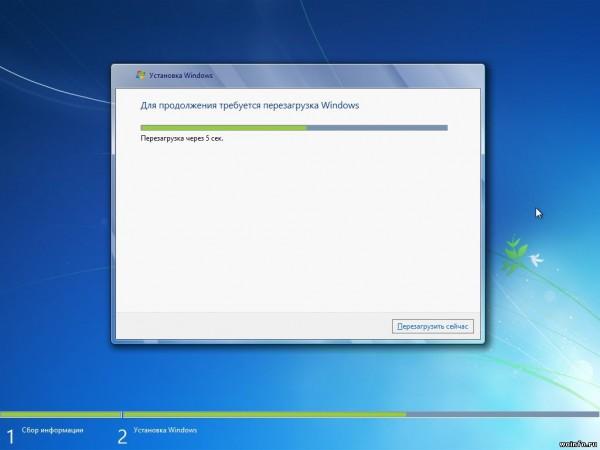 Подробная установка операционной системы Windows 7