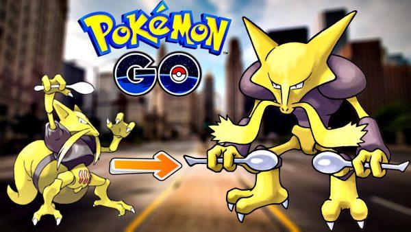 Выращивание покемонов в игре Pokemon Go