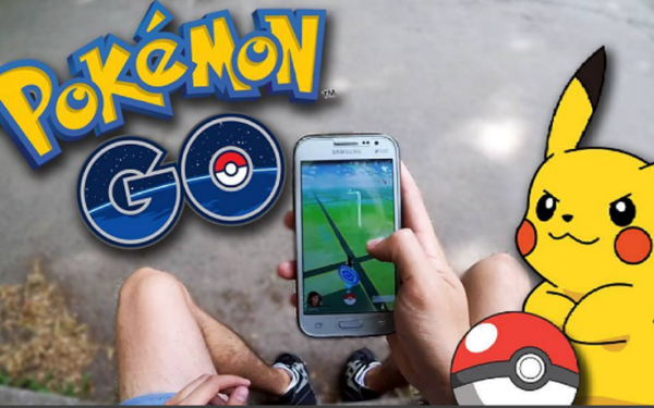 Популярная игра Pokemon Go