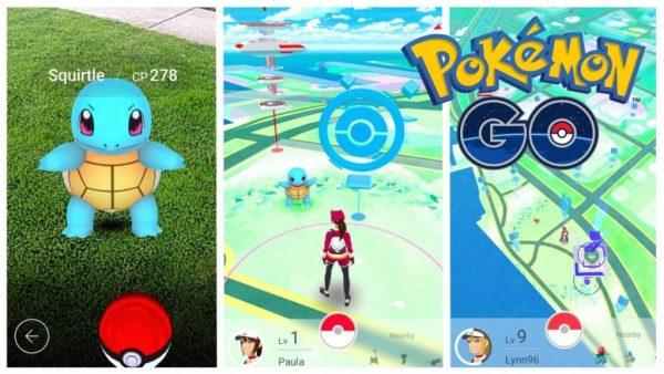 Ловим покемонов в игре Pokemon Go