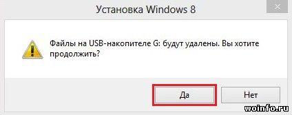 Загрузка Windows 8 (лицензионная) и создание установочной флешки