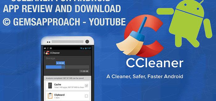 Программа CCleaner для смартфона