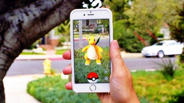 Пример покемонов в игре Pokemon Go