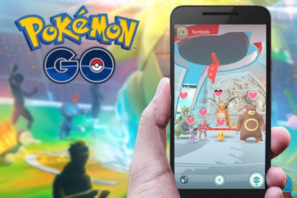 Поиск покемонов в игре Pokemon Go