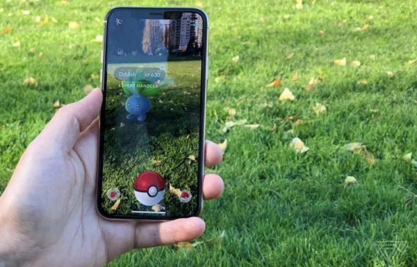 Приложение с игрой на смартфоне