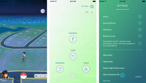 Локации в игре Pokemon Go