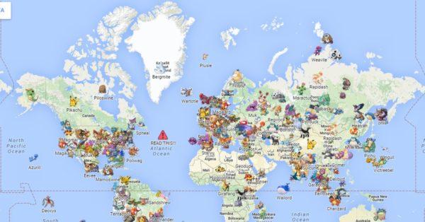 Игровая карта мира