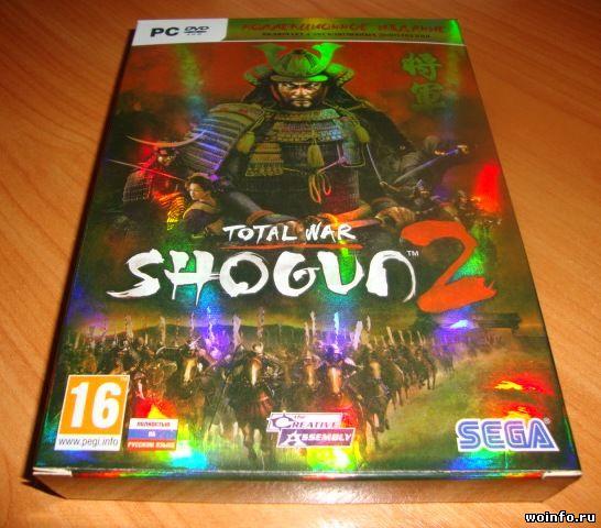 Коллекционное издание Total War: Shogun 2