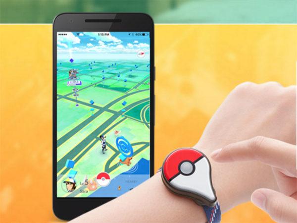 Внешний вид игры Pokemon Go