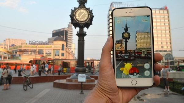 Релиз игры Pokemon Go в России